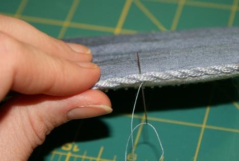 Ladder Stitch Step 2