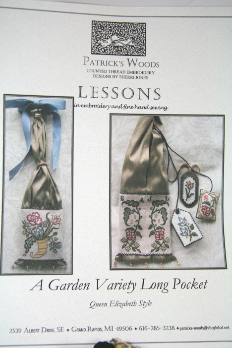 "Sherri Jones ""A Garden Variety Long Pocket"" Class Piece"
