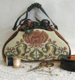 JAT Tapestry in Cross Stitch (model) - I want to start this too!!!