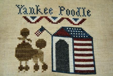 Yankee Poodle by Plum Street Samplers