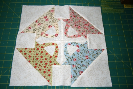 Saturday Sampler June Block (Floral Colorway)