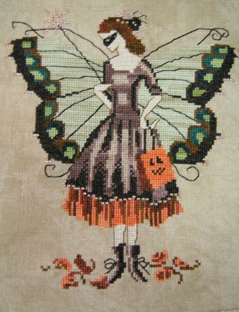 Mirabilia Halloween Fairy - Finished!