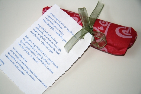 Package and Poem from Terri