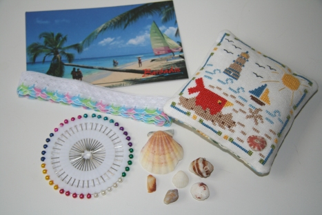 HOE By the Sea Exchange from Sandra with goodies!