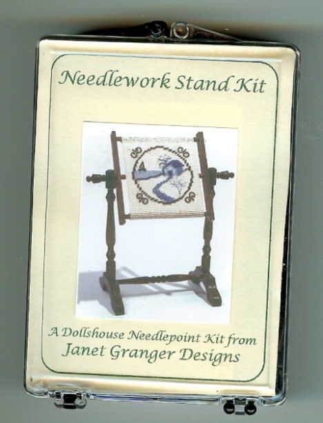 Dollhouse Needlework Stand
