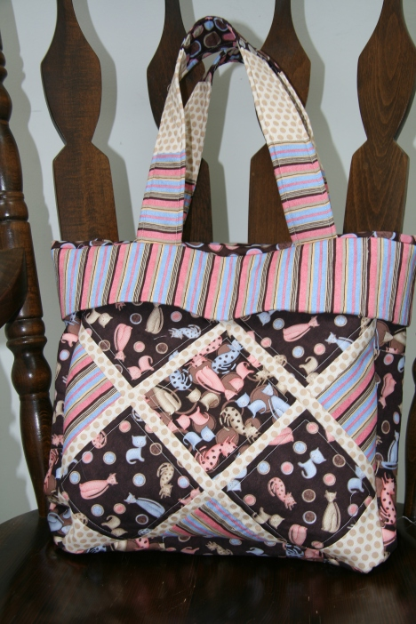 Donna's Tote - I made it for her birthday