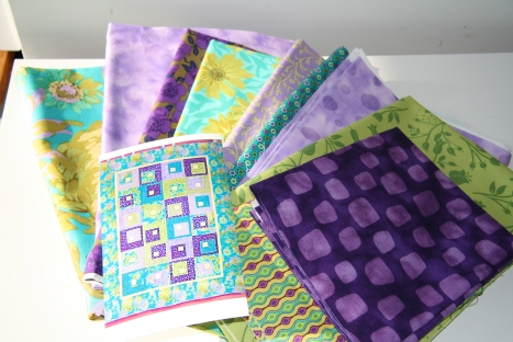 Quilt Kit from Mom