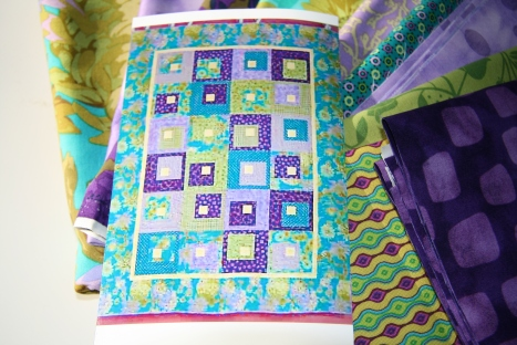 Quilt Kit from Mom Close-up
