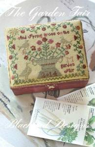 Blackbird Designs The Garden Fair... Includes threads... another one I accidentally bought a duplicate of... $25