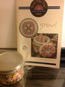 Just Nan 2009 Limited Edition Tin Topper and Pincushion GROW! Includes all finishing materials $40