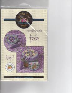 Just Nan Limited Edition 2008 HOP! Needlebook Fob. Includes finishing materials. $35