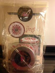 Just Nan JINGLE! Limited Edition tin and tin topper. Includes all finishing materials $35